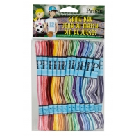 Prism craft Fil coton monobrin couleurs ombrées