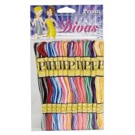 Prism craft fil 6 brins couleurs ombrées