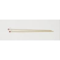 Aiguilles à tricoter en bambou U1754/4