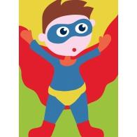 SUPER-HEROS CANEVAS XXL