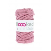 Hoooked 100% natural jute +/-45m Rose