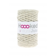 Hoooked 100% natural jute +/-45m Vanilla