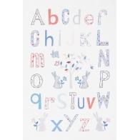 Kit broderie Alphabet Folk