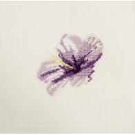 Mini kit point de croix fleur Hibiscus