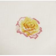 Mini kit point de croix fleur Rose