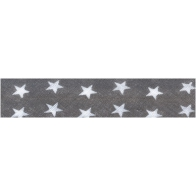 Biais fantaisie motif étoile en piécette 20 mm