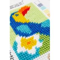 Le toucan  13x18cm
