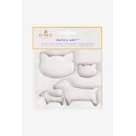 Emporte pièces chien et chat pour le Patch Art
