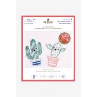 Kit broderie cactus espiègles