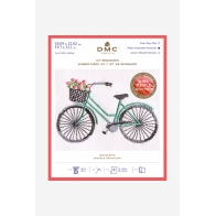 Kit broderie bicyclette