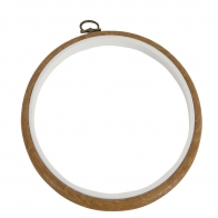 Cadre tambour rond diam. 17.5 cm